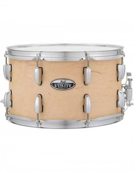 """Pearl MUS1480M/224, Modern Utility 14""""x8"""" Snare Drum, Matte Natural"""