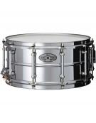 """Pearl STA1465S, Sensitone 14""""x6.5"""" Steel Snare Drum"""