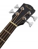 Fender CB-60SCE Bass, Indian Laurel, Black