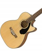 Fender CB-60SCE Bass, Indian Laurel, Natural