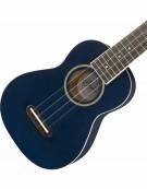 Fender Grace VanderWaal Moonlight Ukulele, Walnut Fingerboard, Navy Blue