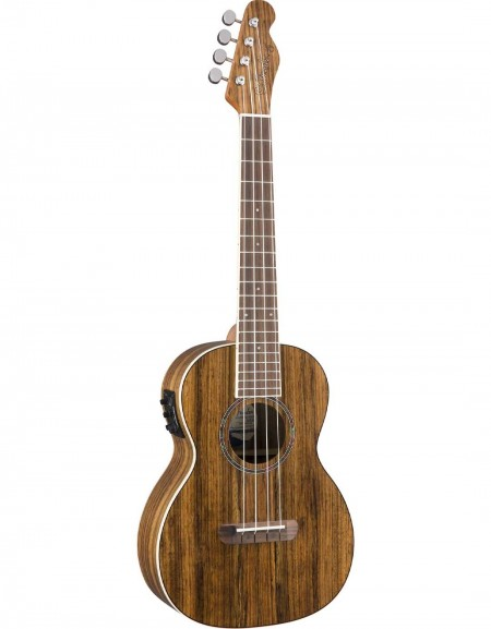 Fender Rincon Tenor Ukulele, Ovangkol Fingerboard, w / bag, Natural Ovangkol