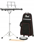 Pearl PK-910C Percussion Kit with Carry Bag and Rolling Cart