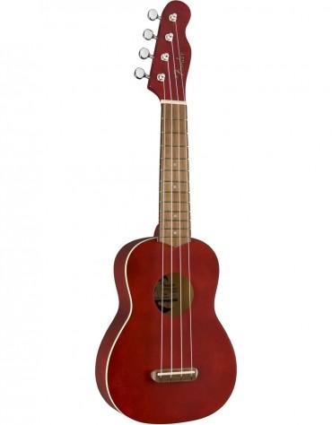 Fender Venice Soprano Ukulele, Walnut Fingerboard, Cherry