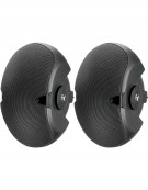 Electro-Voice EVID 3.2, Dual 3.5-inch two-way surface-mount loudspeaker pair black