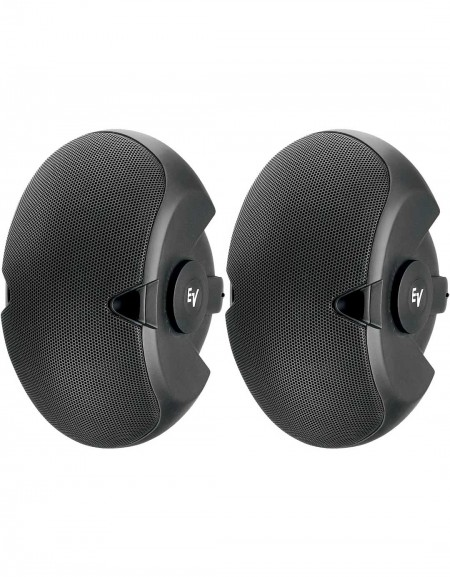 Electro-Voice EVID 6.2, Dual 6-inch two-way surface-mount loudspeaker pair black
