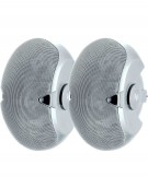 Electro-Voice EVID 6.2, Dual 6-inch two-way surface-mount loudspeaker pair white