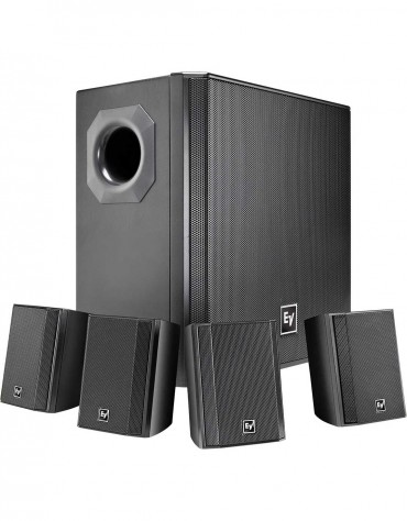 Electro-Voice EVID-S44 Wall mount speaker system package black