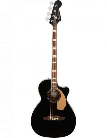 Fender Kingman™ Bass, W/Gig Bag, Black