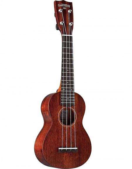 Gretsch G9100 Soprano Standard Ukulele, Laminated Mahogany, Rosewood Fingerboard, W / Bag