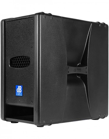 "dB Technologies Sub 28D, Active Subwoofer 2x8"" 800 Watt"