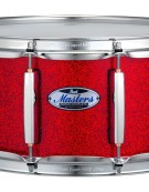 Pearl MCT1465S/C319 Masters Maple Complete 14 x 6.5 inch snare drum, Inferno Red Sparkle
