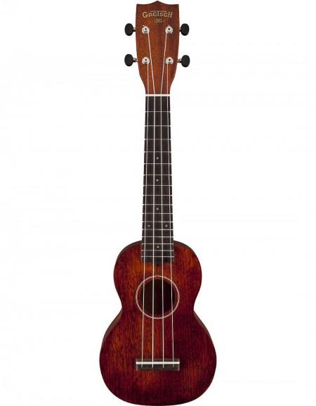 Gretsch G9100-L Soprano Long-Neck Ukulele, Mahogany, Rosewood Fingerboard, W / Bag