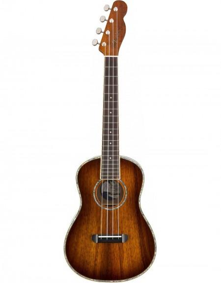 Fender Montecito Tenor Ukulele, w / bag, Tobacco Sunburst