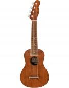 Fender Seaside Soprano Ukulele Pack, Natural