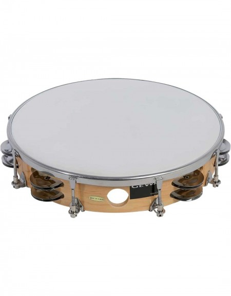 Gewa 841.350, TAMBOURIN TRADITIONAL WITH CLAMPS