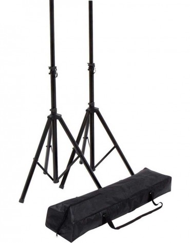 Gewa F900.640 FX speaker stand set with bag