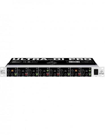Behringer ULTRA-DI PRO DI800, Professional Mains/Phantom Powered 8-Channel DI-Box