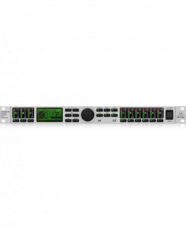 Behringer ULTRA-DRIVE PRO DCX2496, Ultra-High Precision Digital 24-Bit/96 kHz Loudspeaker Management System