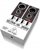 Behringer ULTRA-DI DI20, Professional Active 2-Channel DI-Box/Splitter
