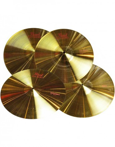 Pearl PCP-204S, Cymbals Set 20R,16CR,14HH