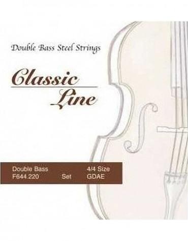 Gewa F644.220 Classic Line Double Bass Wire Set 4/4
