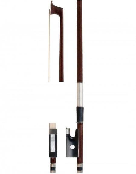Gewa PS407.012, 3/4 violin bow with natural bristles, Ebony