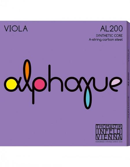 Thomastik 636.810, AL200 Alphayue Viola Strings Set 4/4