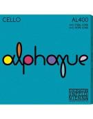 Thomastik 640.850, AL400 Alphayue Cello Strings Set 3/4