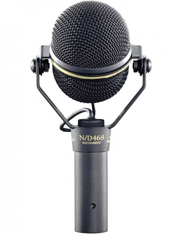 Electro-Voice N/D468, Dynamic Supercardioid Instrument Microphone