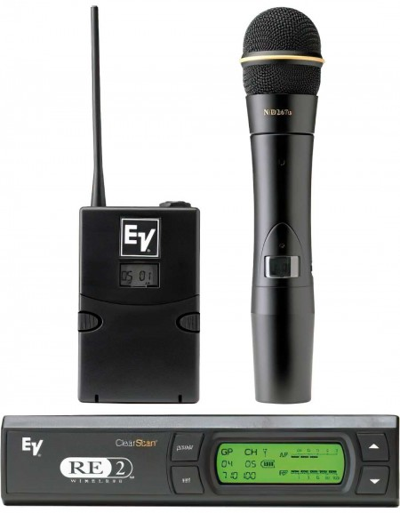 Electro-Voice RE-2 / N2 Systems, with EV N/D267a RE-2 Wireless Systems
