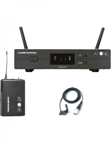 Audio-Technica ATW-11PF, AT-One Beltpack system with ATR35cW