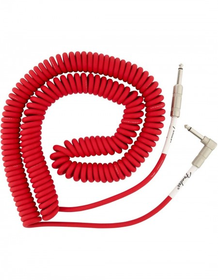 Fender 30ft Original Series Coil Cable, Fiesta Red