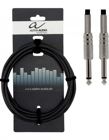 Alpha Audio 190.010, 9m Basic Line Instrument Cable Mono