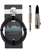 Alpha Audio 190.060, 3m Basic Line Microphone Cable