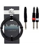 Alpha Audio 190.100, 1.5m Basic Line Y-Cable