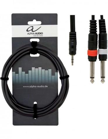 Alpha Audio 190.120, 1.5m Basic Line Y-Cable