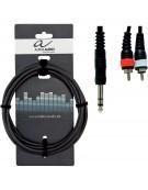 Alpha Audio 190.150, 1.5m Basic Line Y-Cable