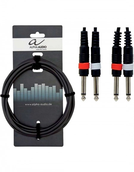 Alpha Audio 190.170, 1.5m Basic Line Twin Cable