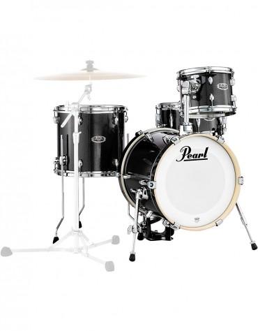 Pearl MDT764P/C701, 4-Piece Shell Set, Black Gold Sparkle