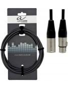 Alpha Audio 190.540, 1.5m Pro Line Microphone Cable