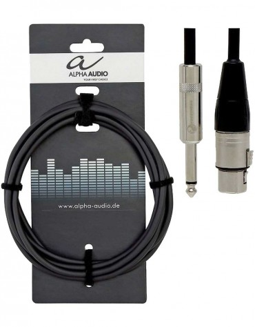 Alpha Audio 190.570, 1.5m Pro Line Microphone Cable