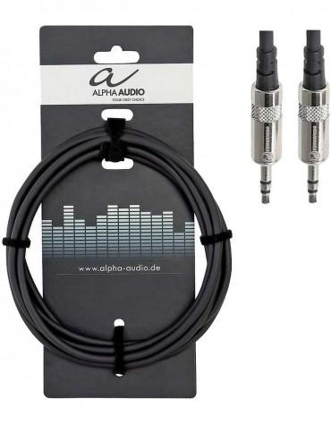 Alpha Audio 190.713, 1.5m Pro Line audio connection
