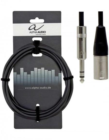 Alpha Audio 190.716, 3m Pro Line Balanced audio connection