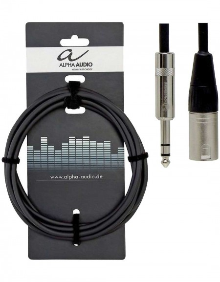 Alpha Audio 190.717, 6m Pro Line Balanced audio connection