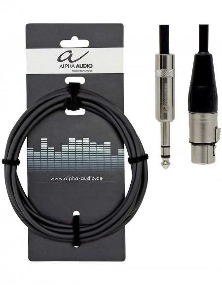 Alpha Audio 190.718, 3m Pro Line Balanced audio connection