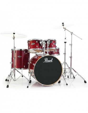 Pearl Export Lacquer EXL705/C246, 5-Piece Drum Set with Hardware, Natural Cherry