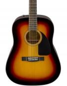 Fender CD-60 Dread V3 DS, Walnut Fingerboard, Sunburst