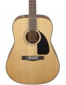 Fender CD-60 Dread V3 DS, Wlanut Fingerboard, Natural