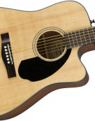 Fender CD-60SCE, Dreadnought, Natural